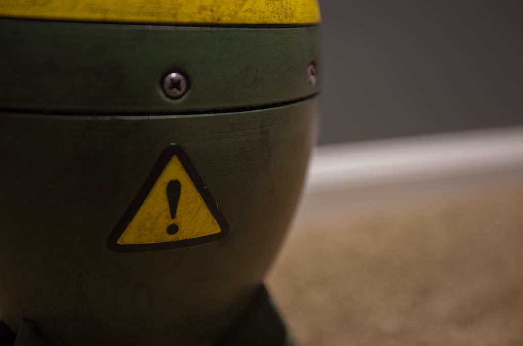 Fallout 4 Mini Nuke - Photo shoot